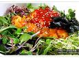 2월에 먹어보는 싱싱한 해삼과 멍게비빔밥