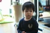 슈 아들공개… 벌써부터 2개국어를?