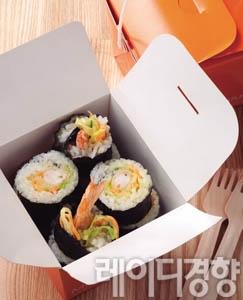 코우슬로 새우튀김김밥
