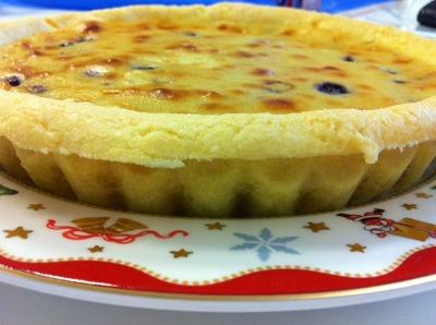 블루베리 크림치즈 파이^^