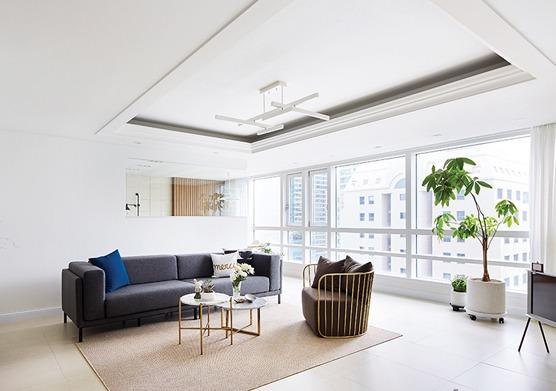 가족실 있는 집! 주상복합 아파트 리모델링 솔루션